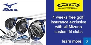 4 weeks free insurance with Mizuno custom fit